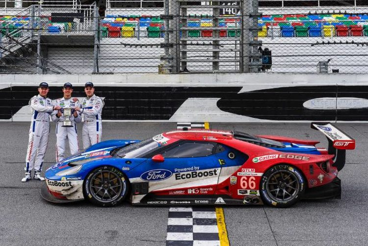 Ford Chip Ganassi Racing Wins GTLM Title at Rolex 24 At Daytona