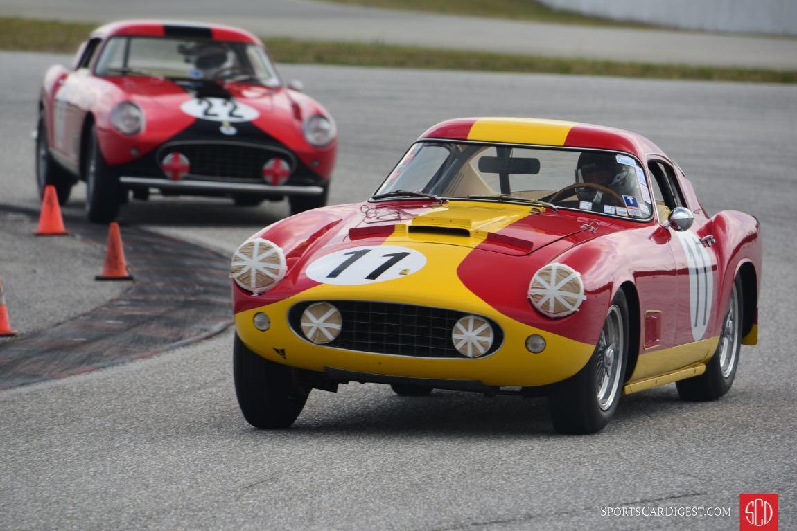 1959 250 GT TDF - s/n: 1321GT- 1958 250 GT LWB-TDF s/n: 0881GT.