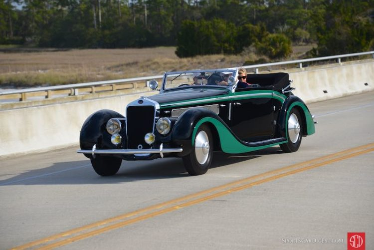 1937 Delage D8-120 Cabriolet