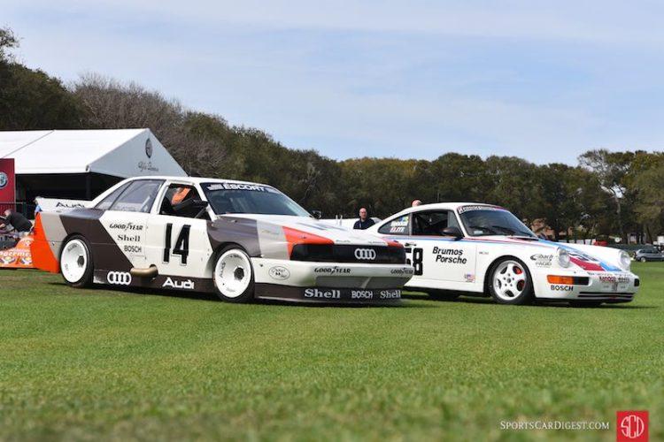 1988 Audi 200 Quattro Trans-Am and 1991 Porsche 911 Turbo S2