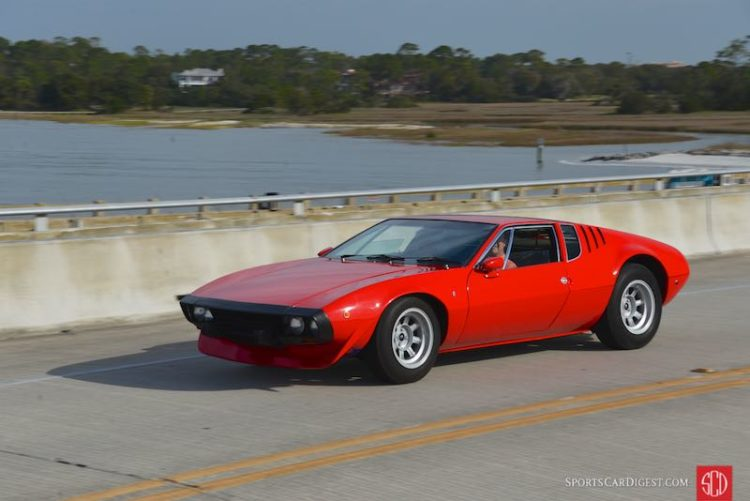 1969 De Tomaso Mangusta Bordinat Prototype