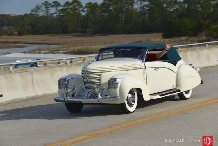 1938 Graham 97 Supercharged Cabriolet by Saoutchik