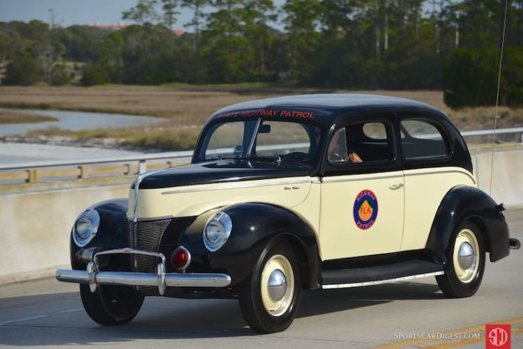 1940 Ford Deluxe State Highway Patrol