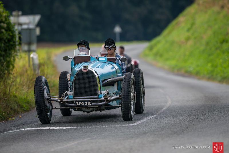 Bugatti Type 35 - 2016 Chantilly Arts and Elegance Tour