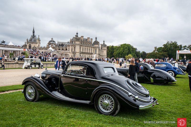 1935 Delage D6-11 S Brandone Coupe