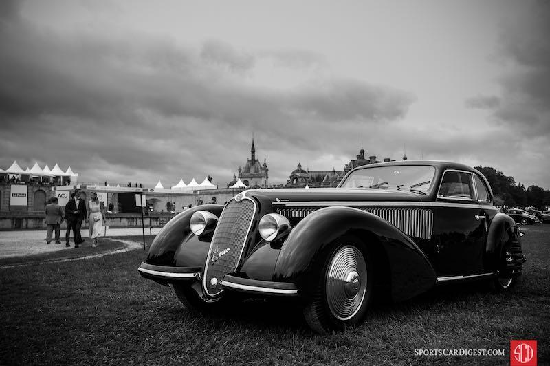 1938 Alfa Romeo 8C 2900B Lungo Berlinetta