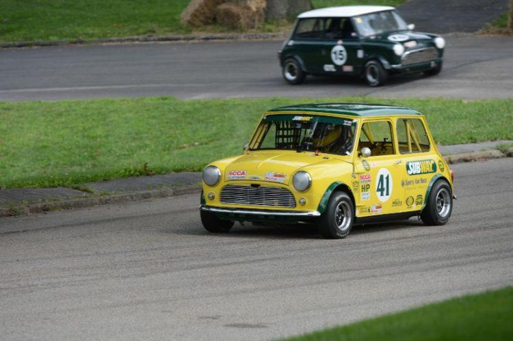 Joe Plunkett 1967 Mini Cooper S.