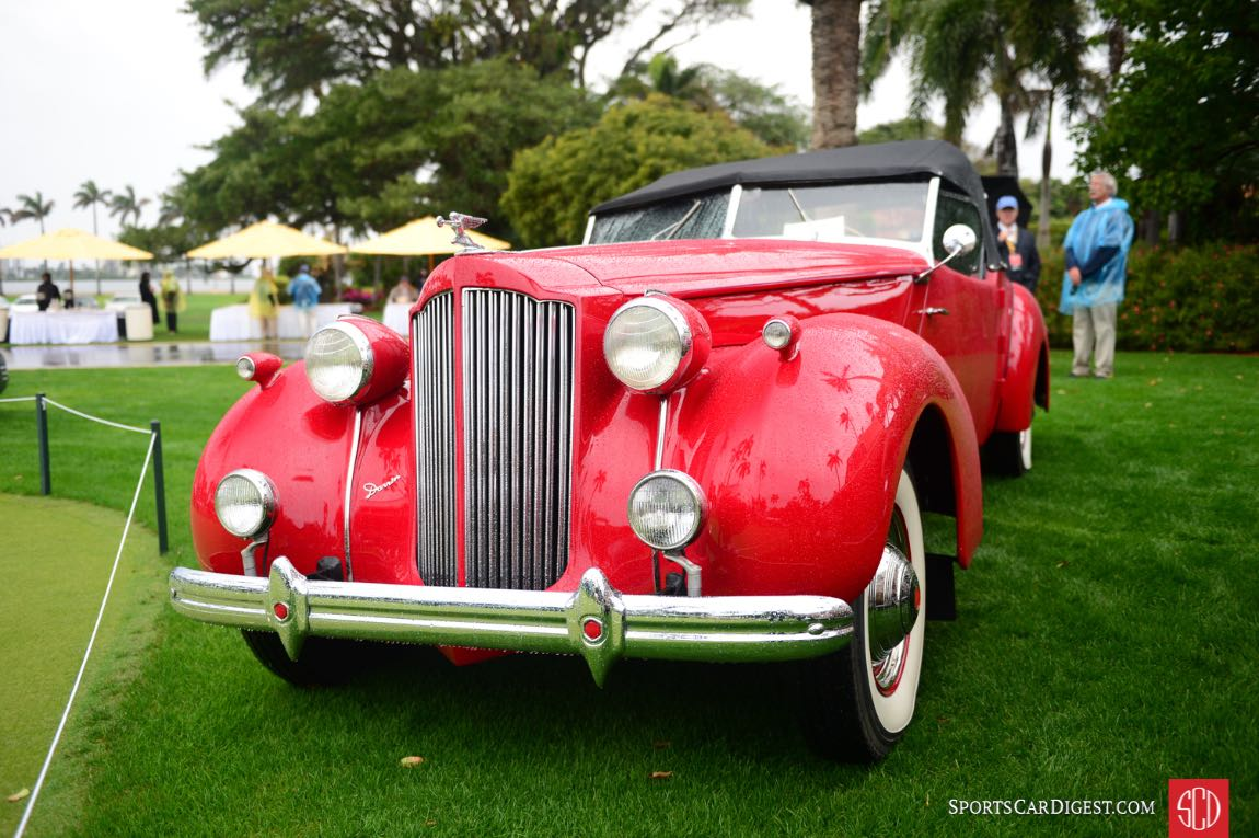 1939 Packard Victoria Darrin. s/n: B316754A.