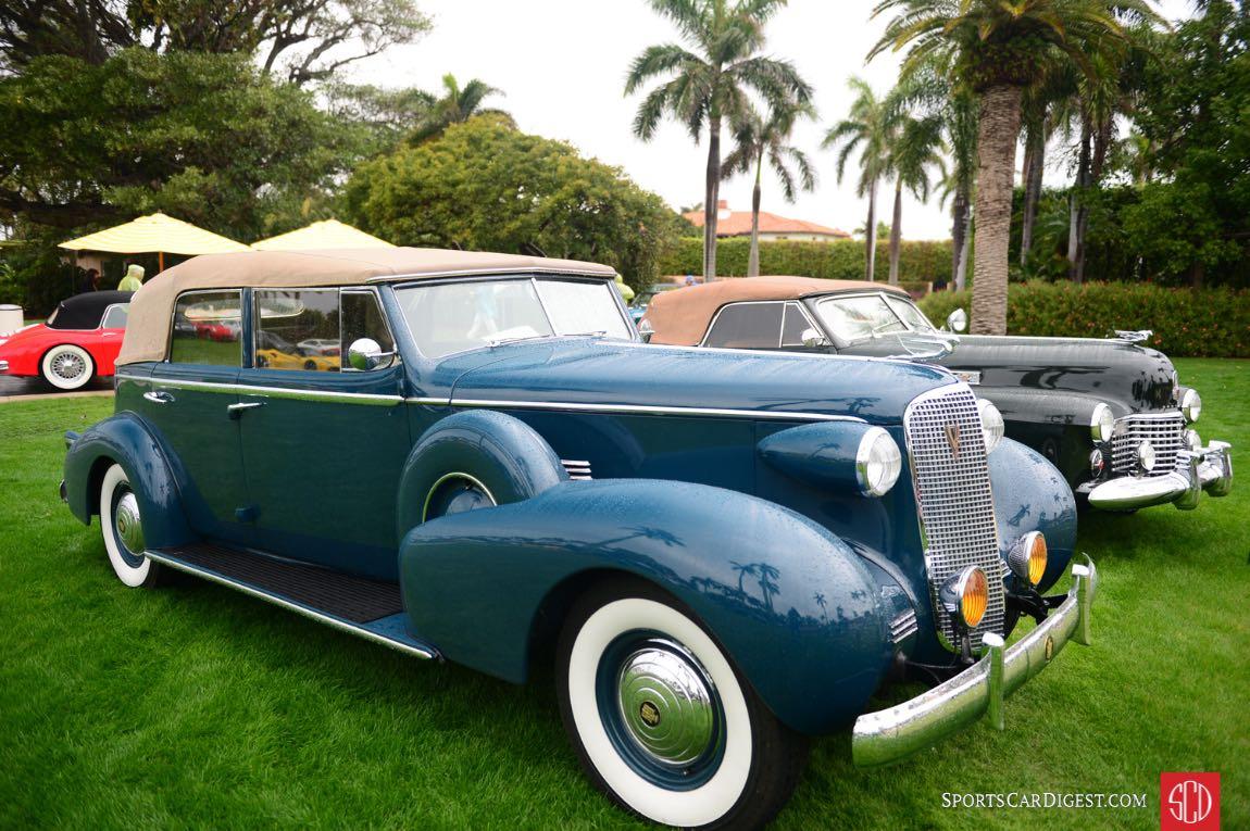 1937 Cadillac Convertible Sedan s/n: 1426401.
