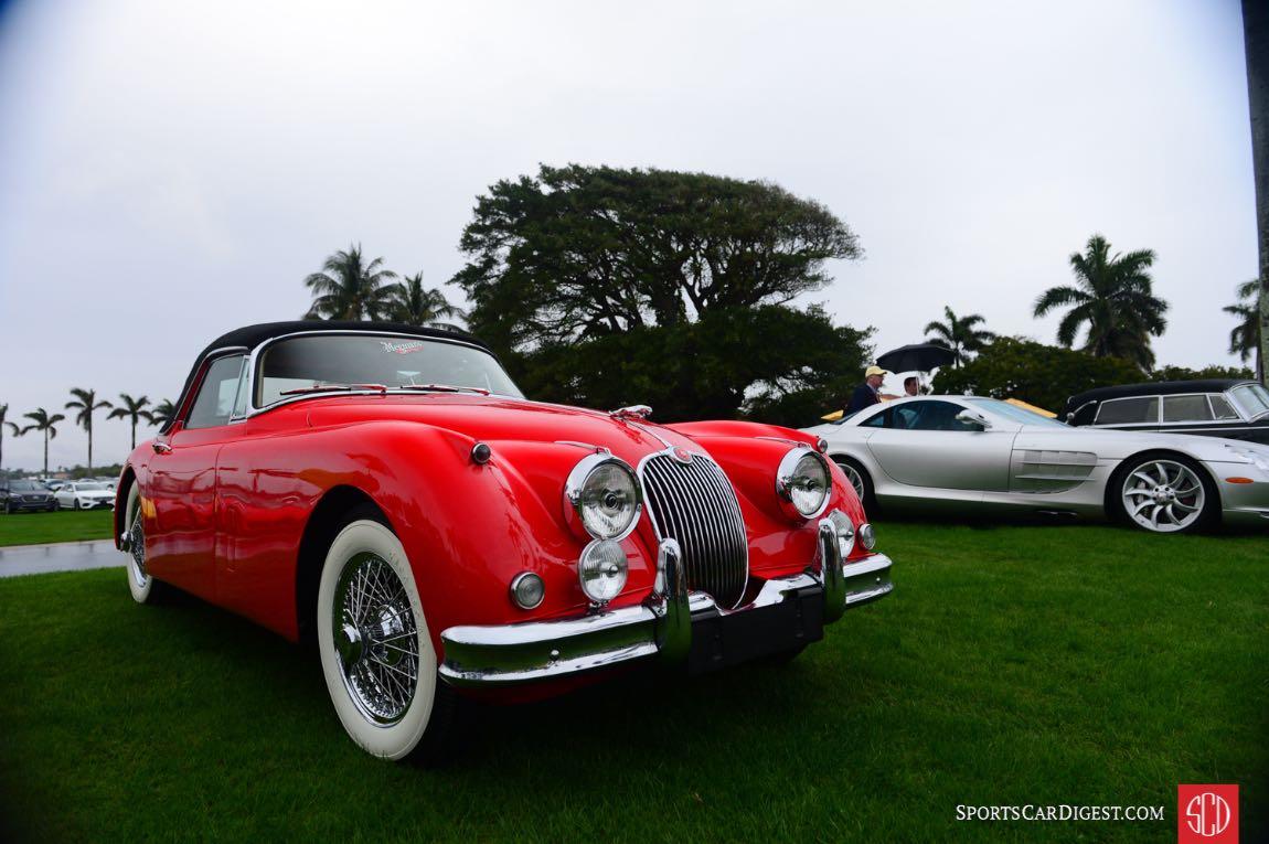 1958 Jaguar XK150DHC s/n: 837294.