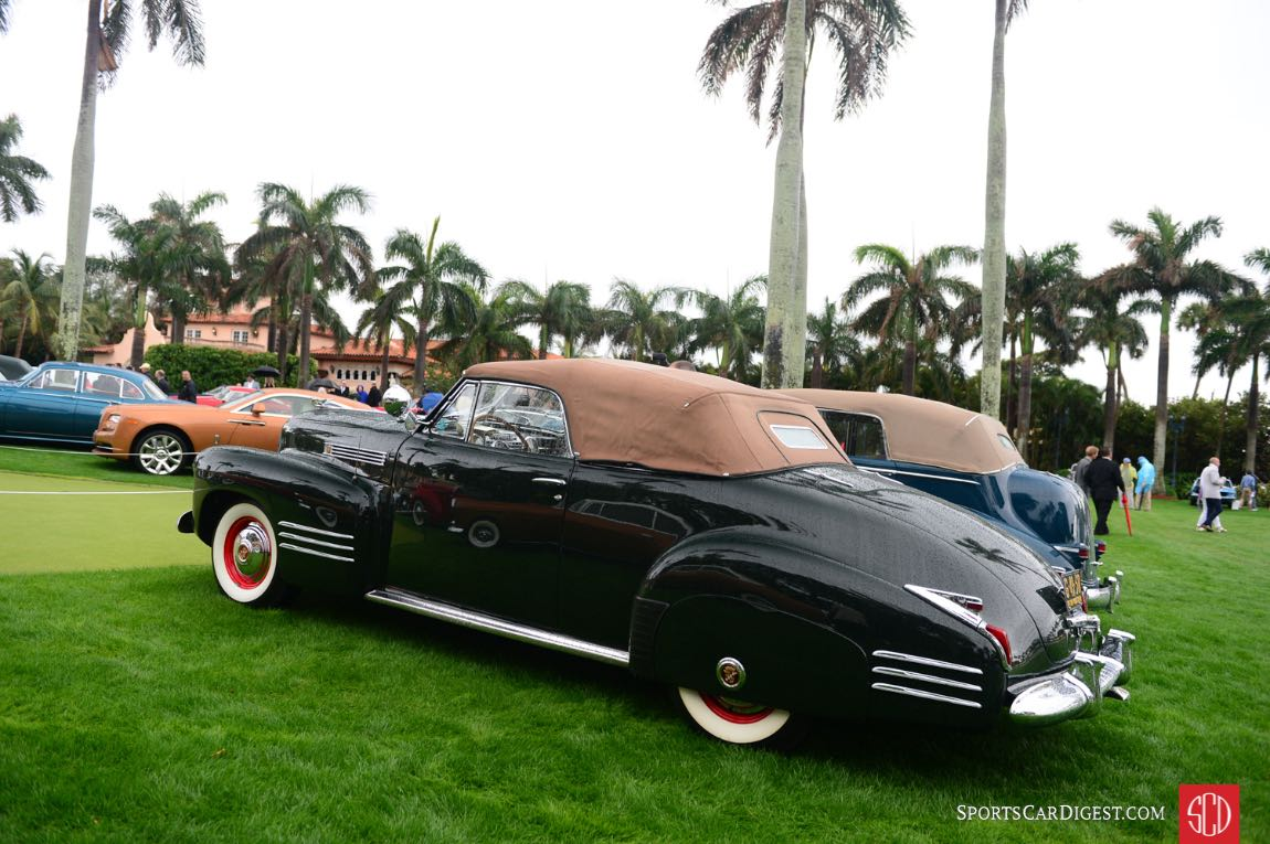 1941 Cadillac Series 62.