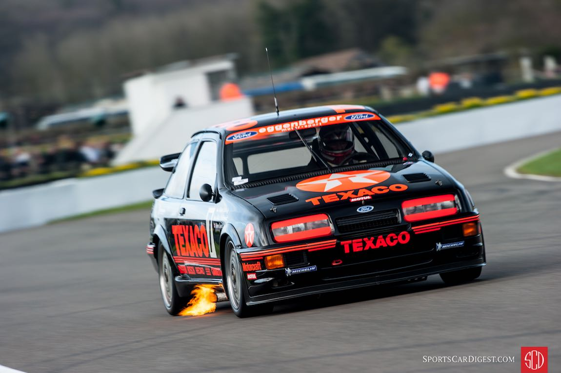 1988 Ford Sierra Cosworth RS500 driven by Steve Soper