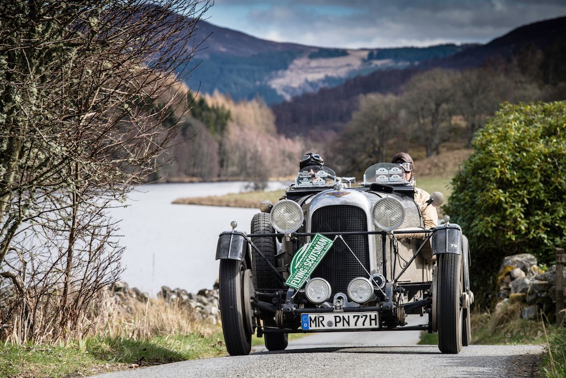 Robert Peil (D) / Thomas Pfeiffer (D) 1936 Lagonda M45 Rapide, Flying Scotsman 2017, Aviemore - Gleneagles