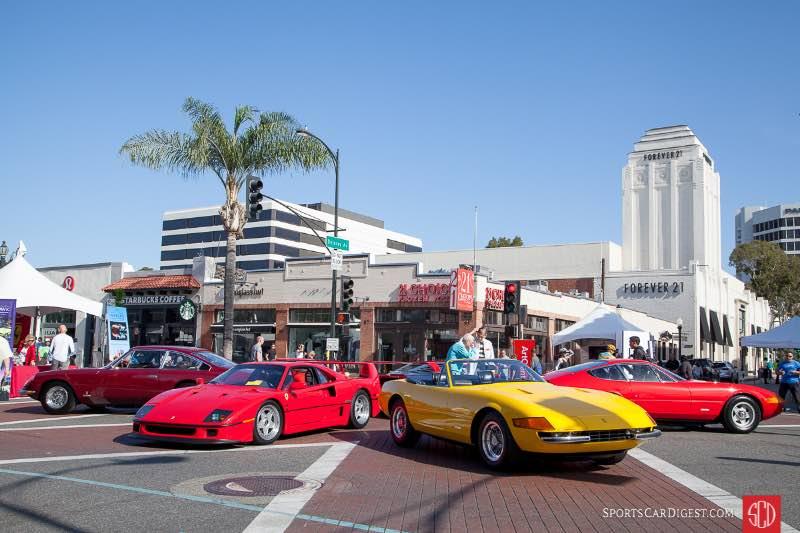 Ferraris on Colorado Blvd and De Lacey Ave