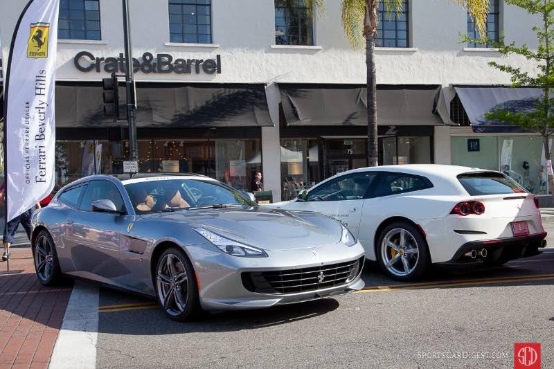 Pair of Ferrari FFs