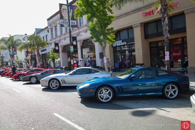 Ferraris on Colorado Blvd