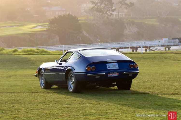1971 Ferrari 365 GTB/4 Scaglietti Berlinetta 14271 was famously driven by Dan Gurney and Brock Yates in the inaugural Cannonball Run