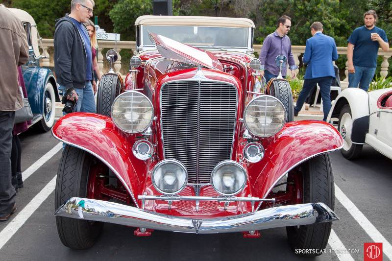 1934 Auburn 1250 V12, owned by Frederick Lax