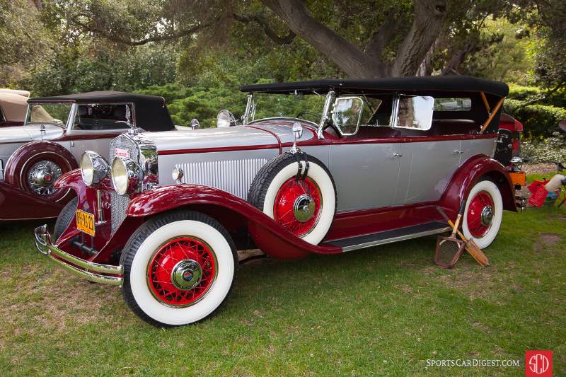 1930 La Salle Series 340 Fleetwood Phaeton, owned by Paul & Jacqui Whitney