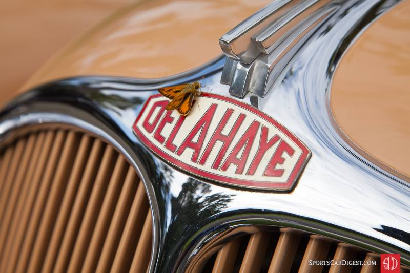 1938 Delahaye Model 135 Roadster By Chapron, owned by Richard Atwell