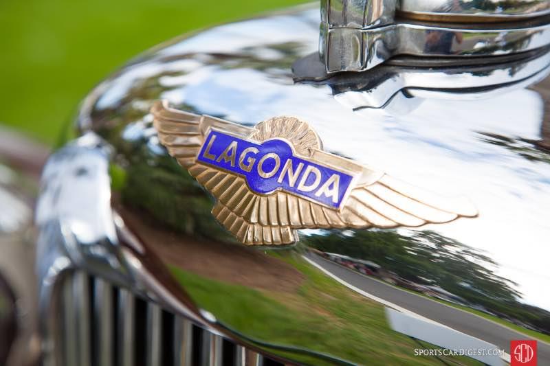 1936 Lagonda Drop Head Coupe, owned by Jeffrey Wildin