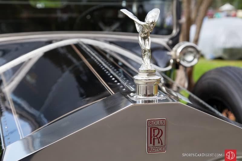 1925 Rolls-Royce Silver Ghost Merrimac Town Car, owned by Michael & Patricia Adams