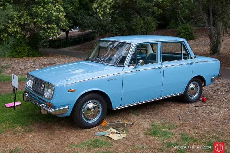 1966 Toyota Corona, owned by Edgardo Lim