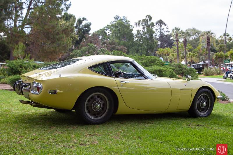 1967 Toyota 2000GT, owned by Peter Fodor