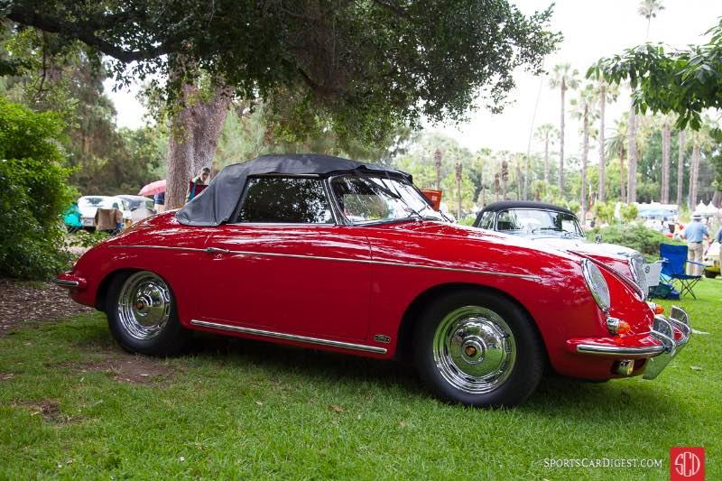 1962 Porsche 356B 1600 S. Roadster, owned by William & Teresa Tripodi