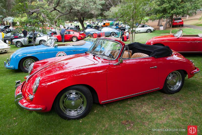 1964 Porsche 356 SC Cabriolet, owned by Peter Clinco