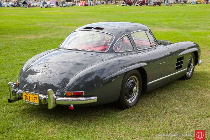 1955 Mercedes Benz 300SL Gullwing Alloy Body, owned by Jerome Dahan