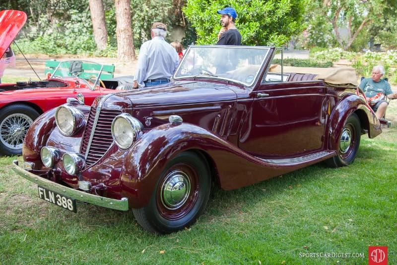 1939 Raymond Mays Grand Touring, owned by Skip Davis