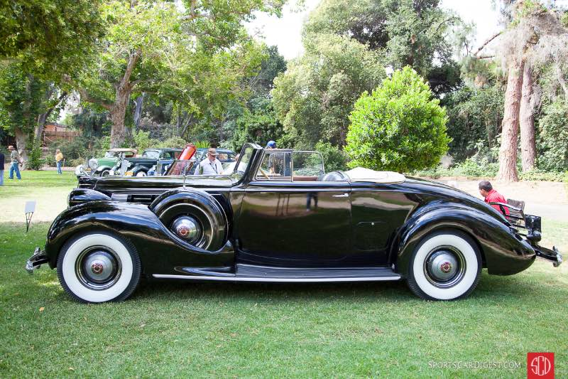 1938 Packard Convertible Roadster, owned by Michael Harrah