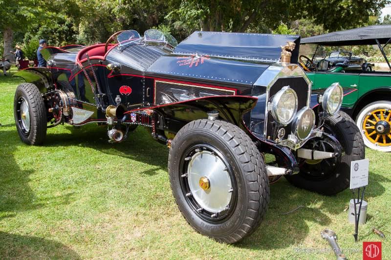 1916 La Bestioni Batmobile, owned by Gary Wales