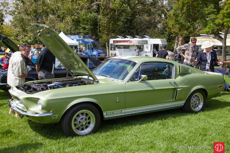 1968 Ford Shelby GT500, owned by Christopher Sullivan