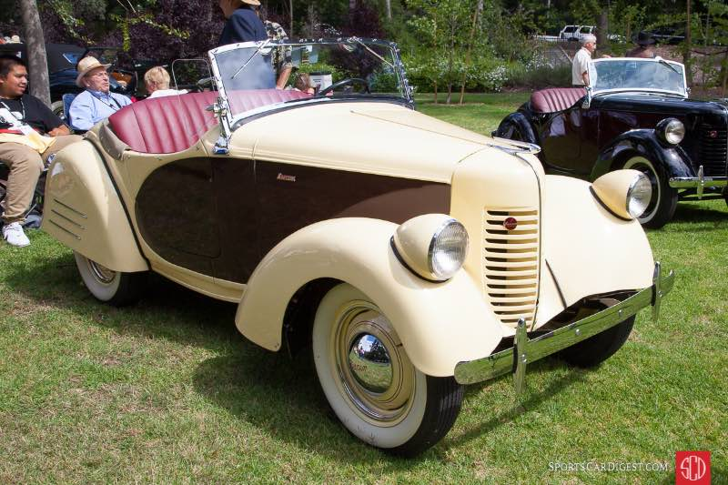 1940 Bantam Roadster, owned by Stanley Zimmerman