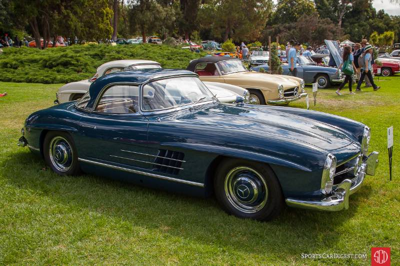 1957 Mercedes Benz 300SL Roadster, owned by Jeff Wu