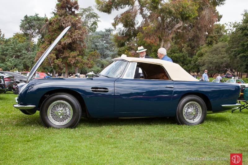 1965 Aston Martin Vantage Volante, owned by Jerry Rosenstock