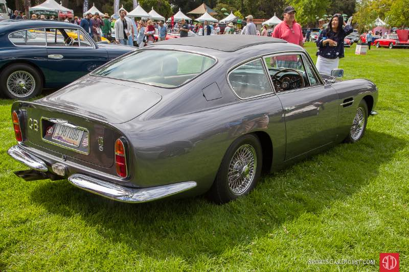 1967 Aston Martin DB6, owned by Judy Chappell