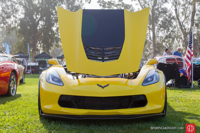 2016 Corvette Z06, owned by Bob Roethier