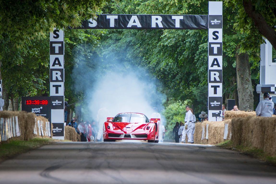 Ferrari FXX at the 2017 Goodwood Festival of Speed