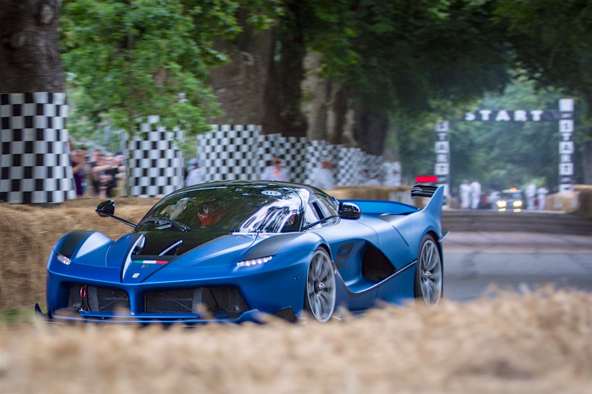 Ferrari brought the latest and greatest to the 70th Anniversary party at the 2017 Goodwood Festival of Speed