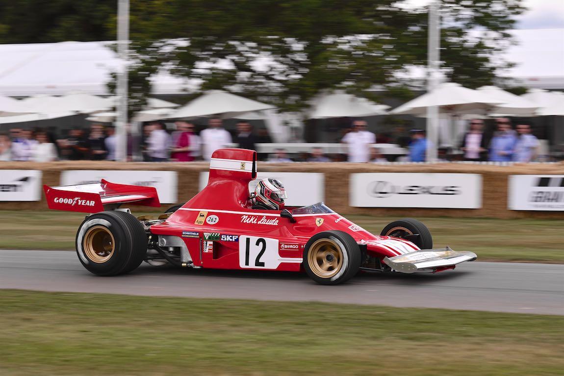 Ex-Niki Lauda Ferrari 312 B3