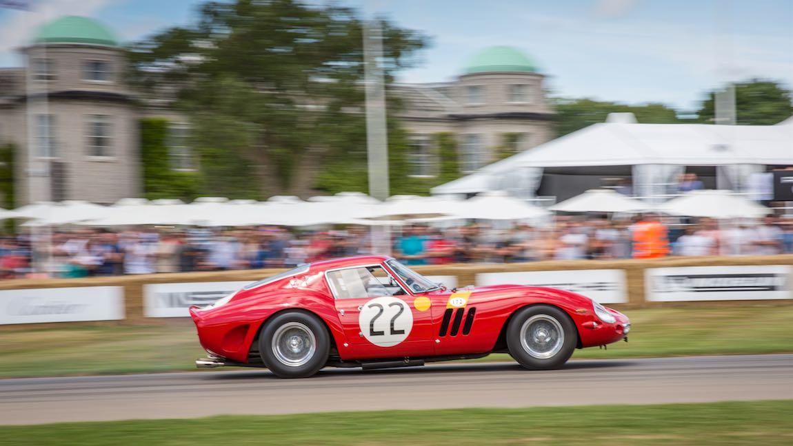 Nick Mason's Ferrari 250 GTO chassis number 3757GT