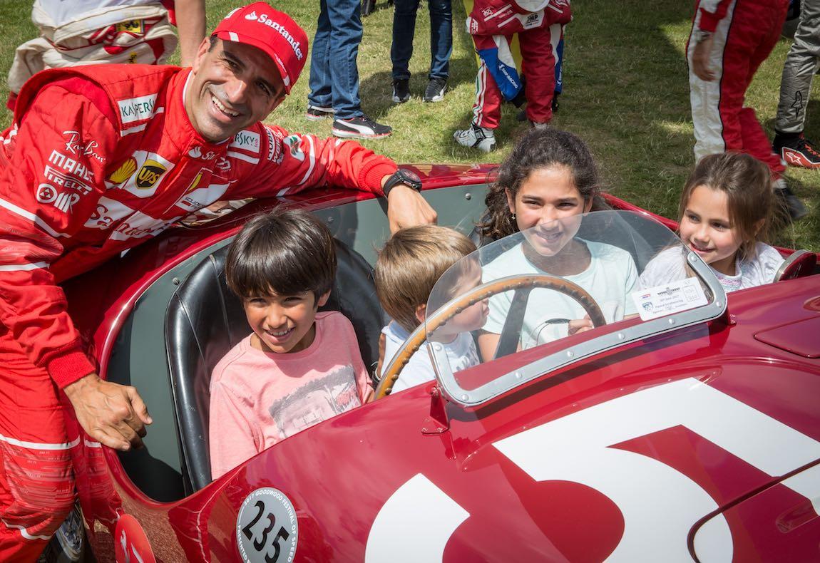 Enjoying the Ferrari 125 S