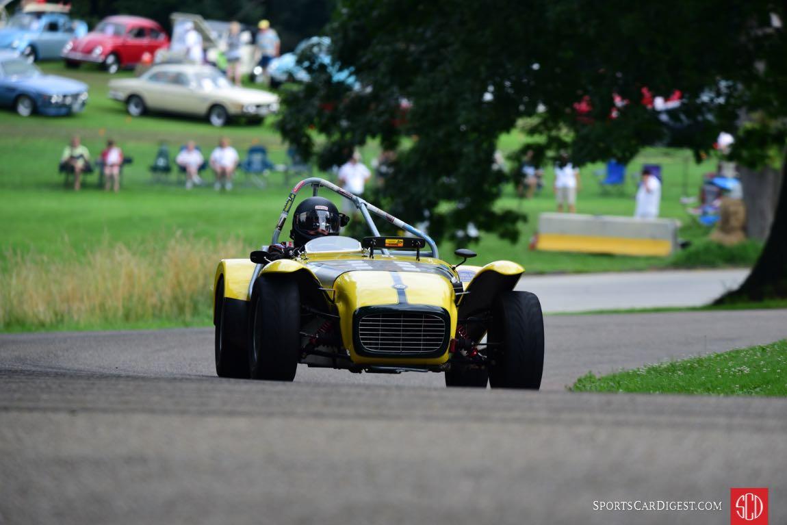 1962 Lotus 7- Tom Chisholm.