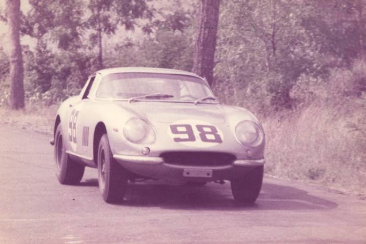 Chassis 09051 competing in its first race at the 1966 500 Kilometers of Mugello (Photo copyright and courtesy of Marcel Massini)