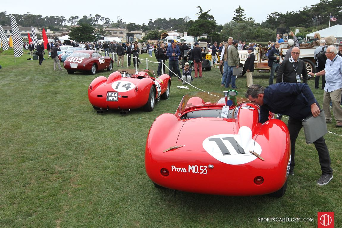 1959 Ferrari 250 TR59/60 Fantuzzi Spider chassis 0774TR won the 1960 Le Mans 24 Hours driven by Olivier Gendebien and Paul Frere