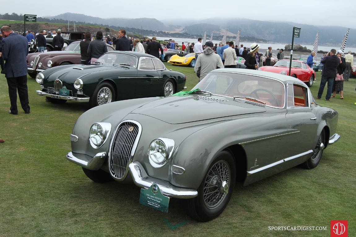 1954 Jaguar XK120 SE Pinin Farina Coupe