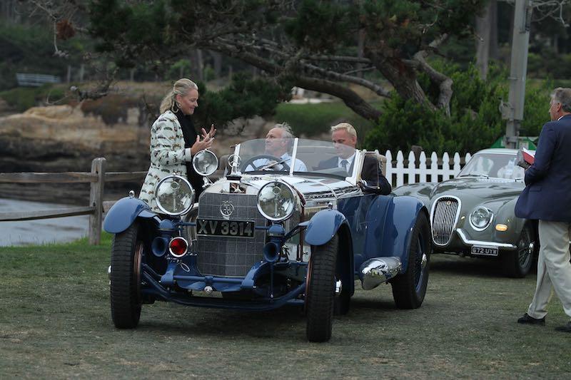 Start of a big day for the 1929 Mercedes-Benz S Barker Tourer, Best of Show Winner (photo: Richard Michael Owen)